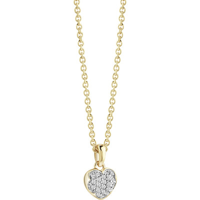 necklace woman jewellery Guess Heartshelter UBN71528