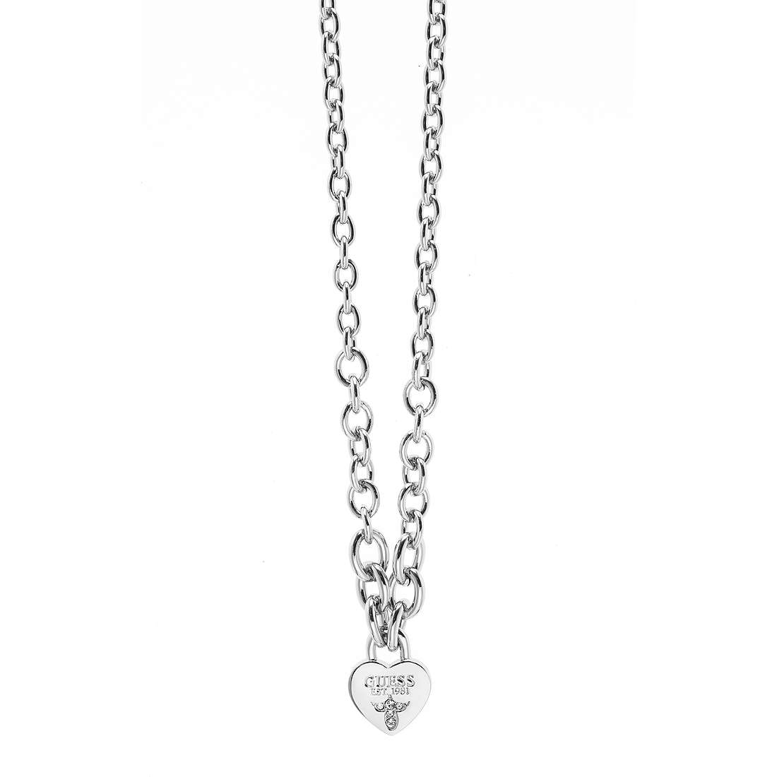 necklace woman jewellery Guess Iconic UBN21577