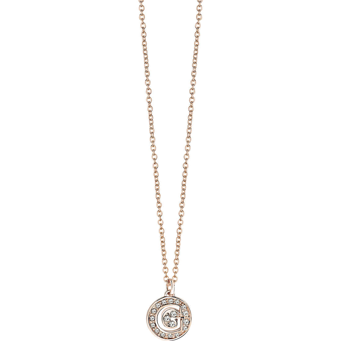 necklace woman jewellery Guess Rose Gold UBN51480