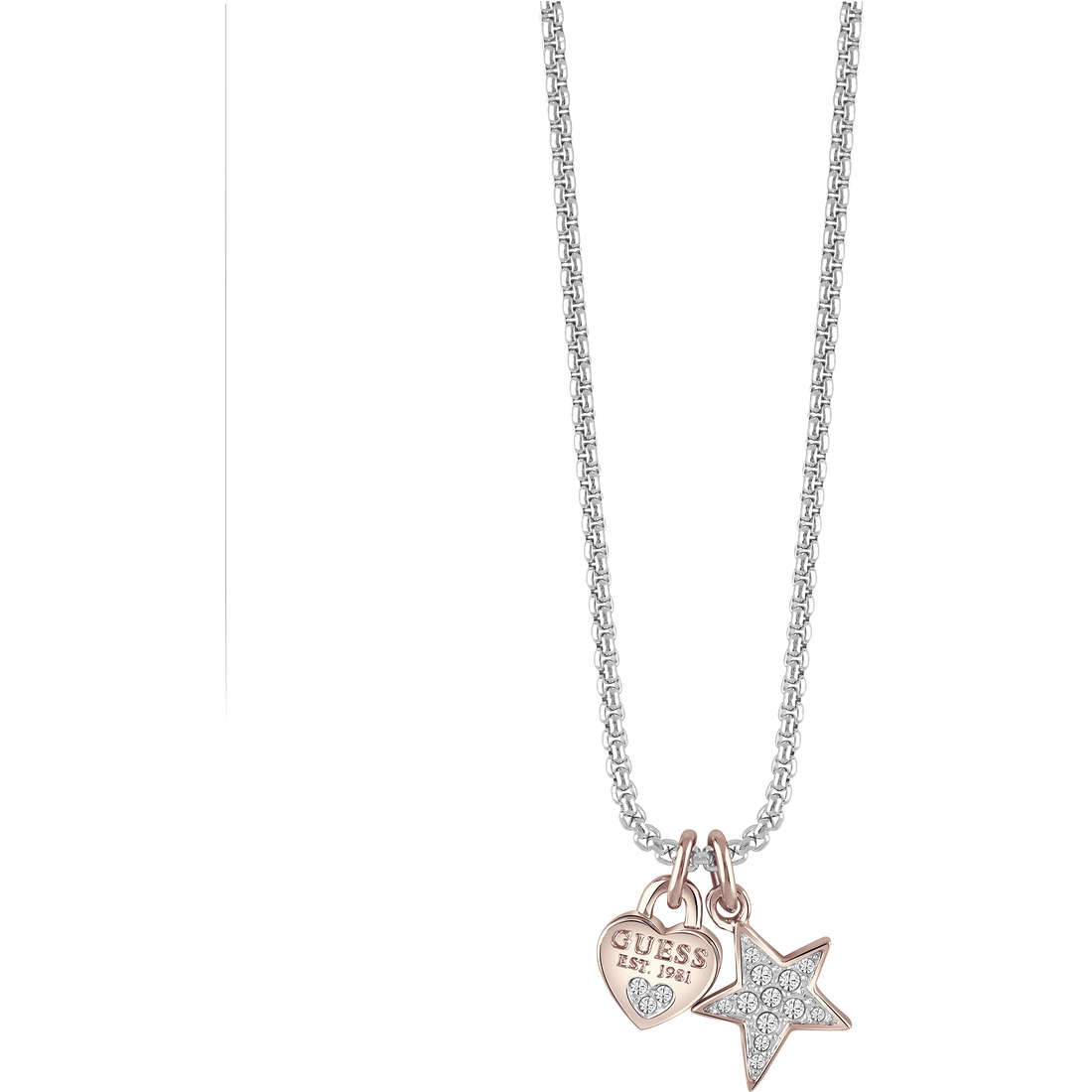 necklace woman jewellery Guess UBN82093