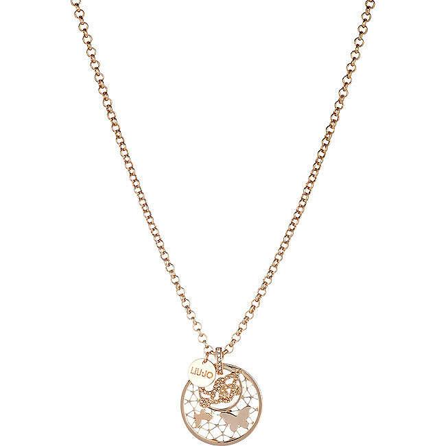 necklace woman jewellery Liujo Brass LJ818
