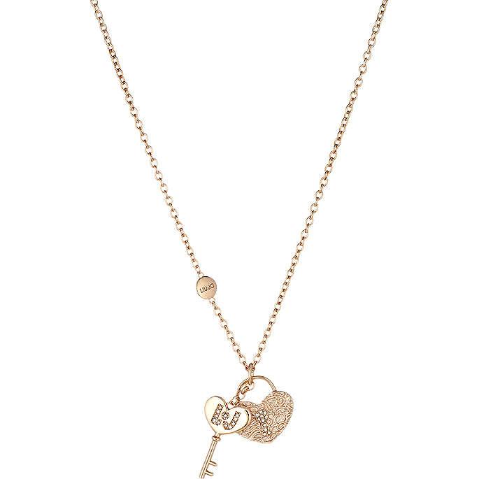 necklace woman jewellery Liujo Brass LJ846