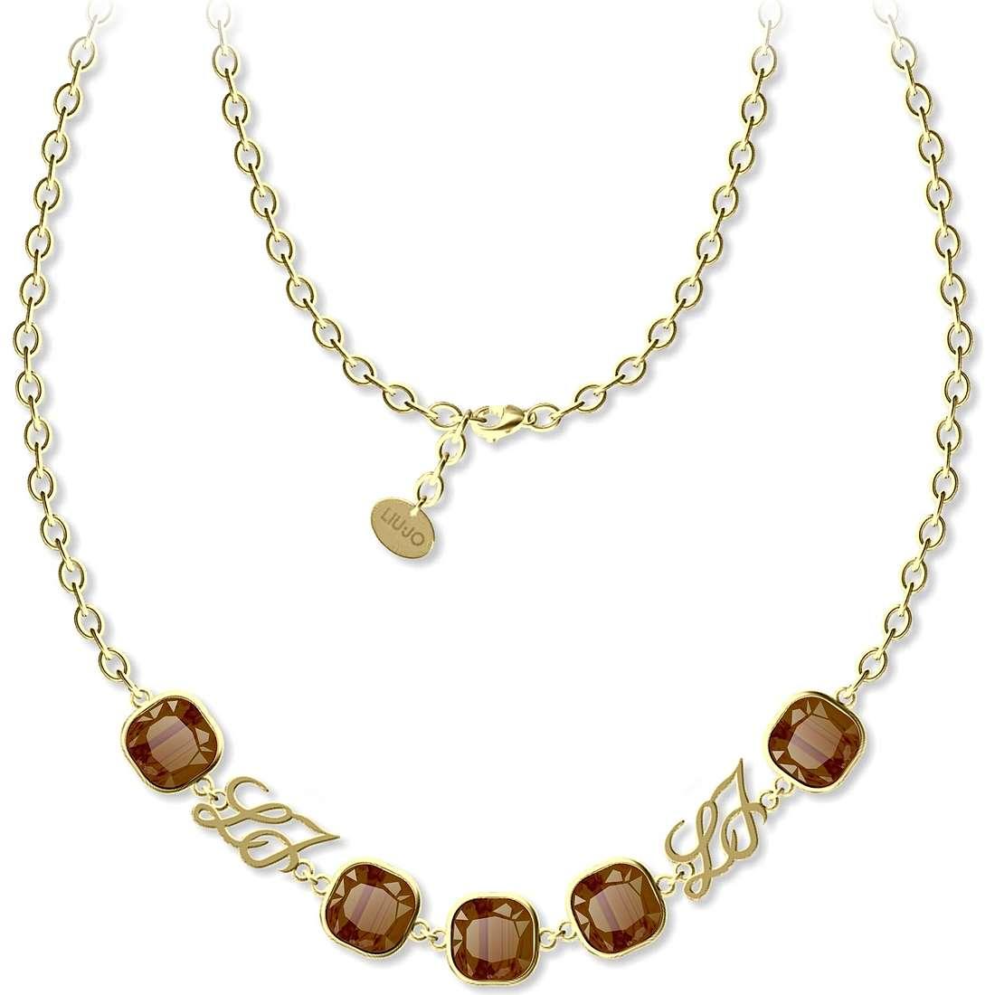 necklace woman jewellery Liujo Illumina LJ801