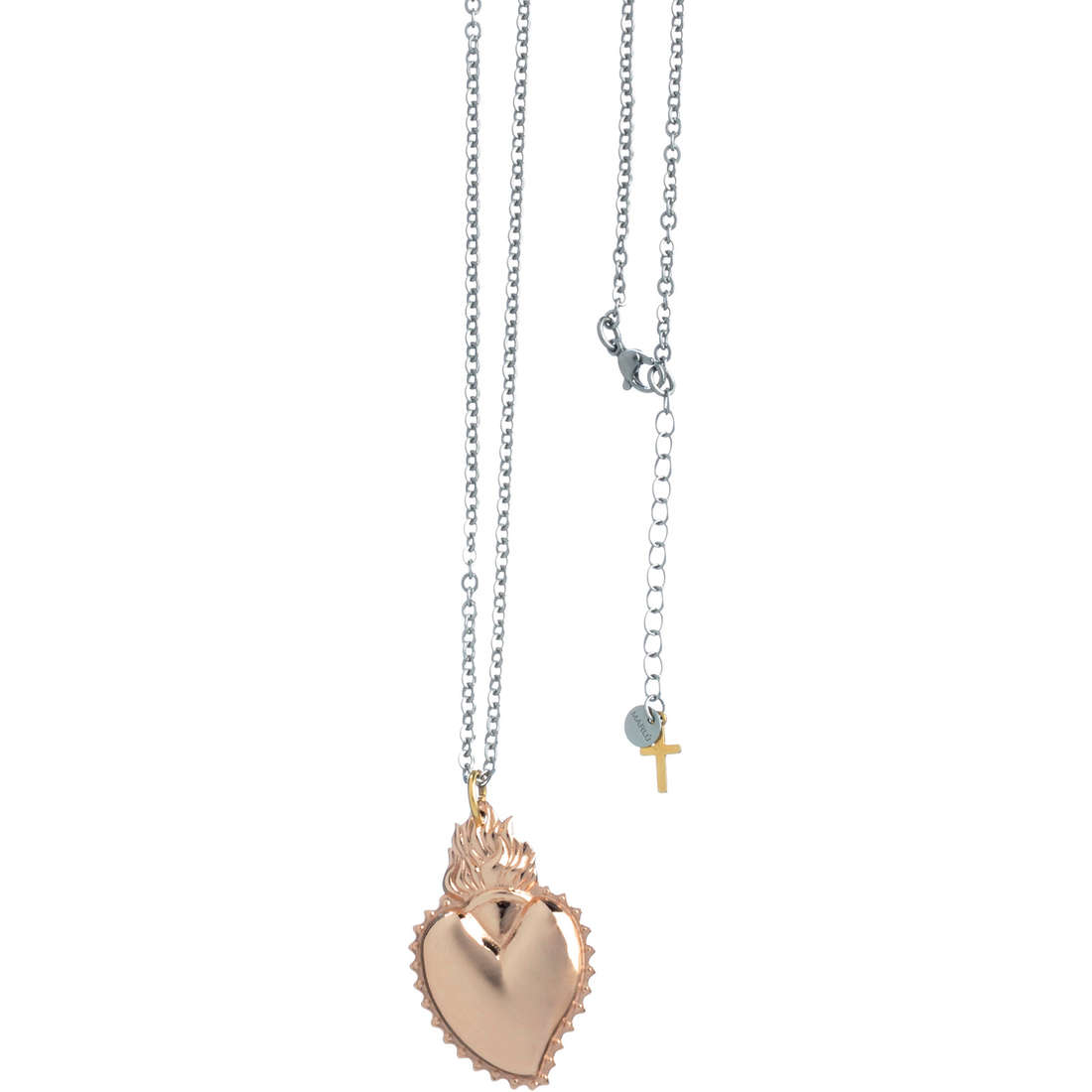 necklace woman jewellery Marlù Sacro Cuore 13CN031