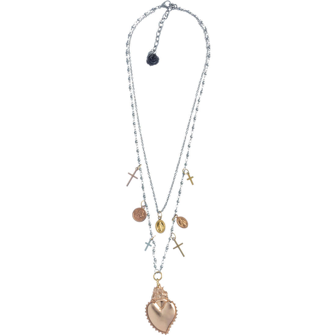 necklace woman jewellery Marlù Sacro Cuore 13CO015