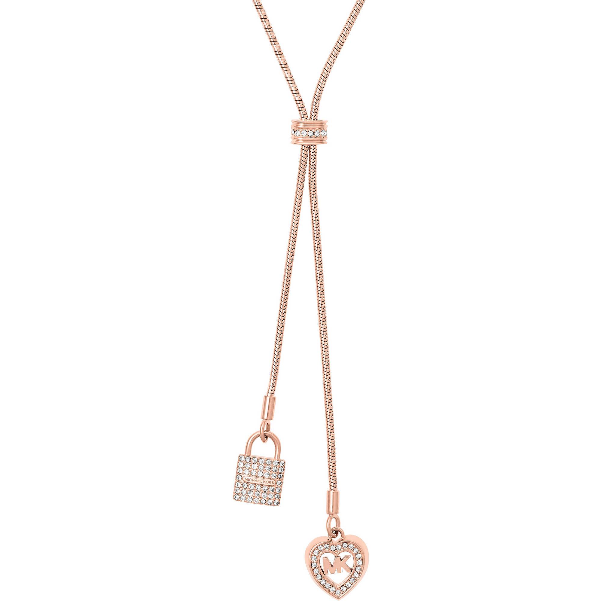 htm necklaces zoom en woman necklace michael kors ferrari logo jewellery