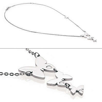 necklace woman jewellery Nomination Butterfly 021321/001