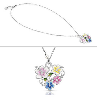 necklace woman jewellery Nomination Flo 026611/005