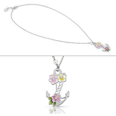 necklace woman jewellery Nomination Flo 026611/013