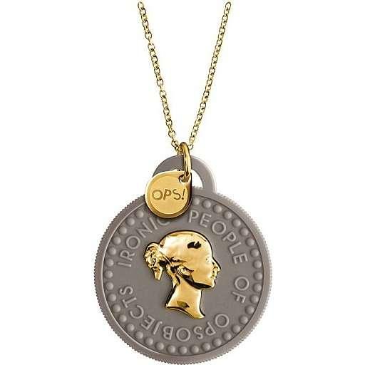 necklace woman jewellery Ops Objects Tresor OPSKCL-06