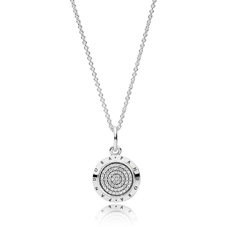 1449ae2b66c633 necklace woman jewellery Pandora Forever 390375CZ-70 necklaces Pandora
