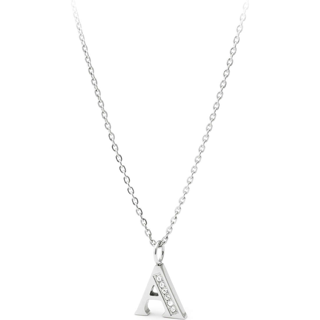 necklace woman jewellery Sagapò Alphabet SALA