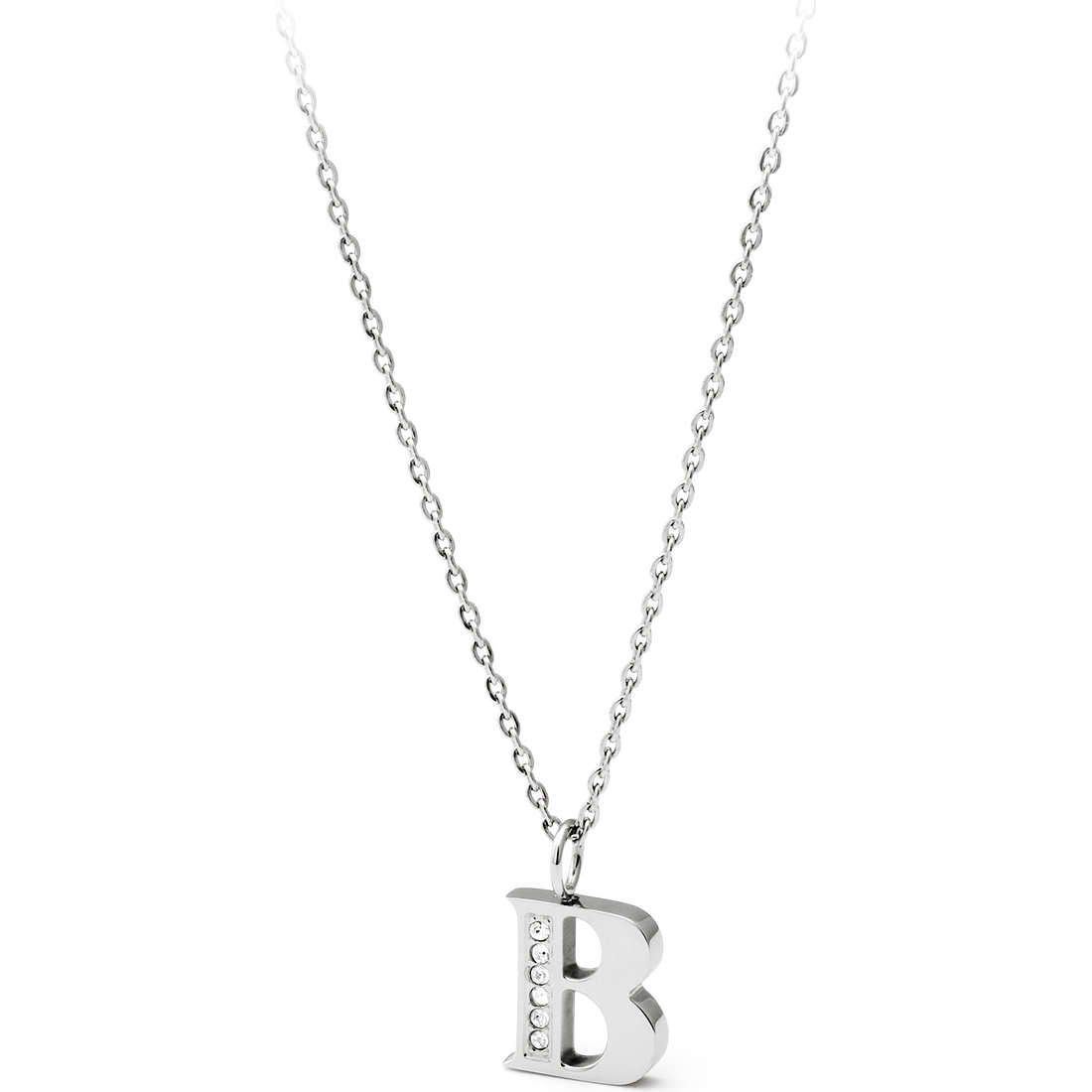 necklace woman jewellery Sagapò Alphabet SALB1