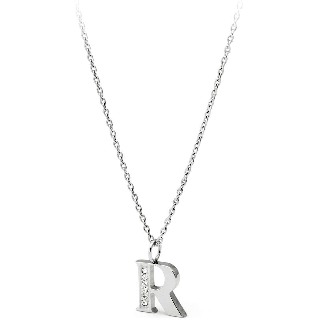 necklace woman jewellery Sagapò Alphabet SALR1