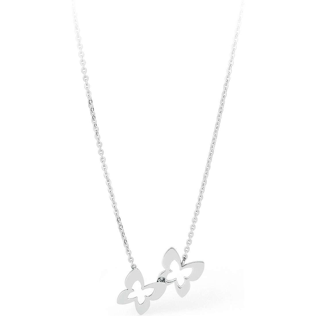 necklace woman jewellery Sagapò BUTTERFLY SBF04