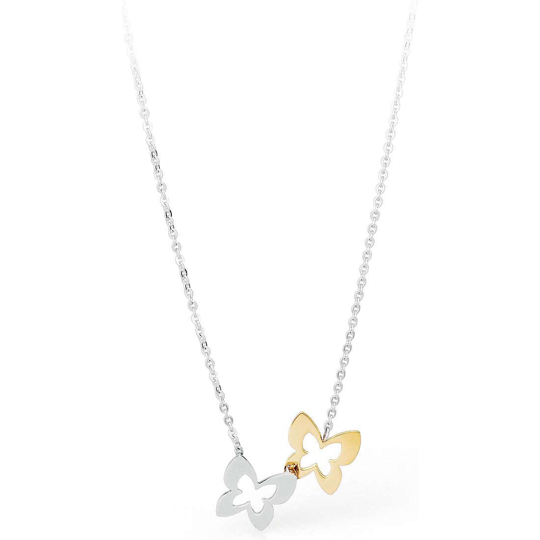 necklace woman jewellery Sagapò BUTTERFLY SBF05