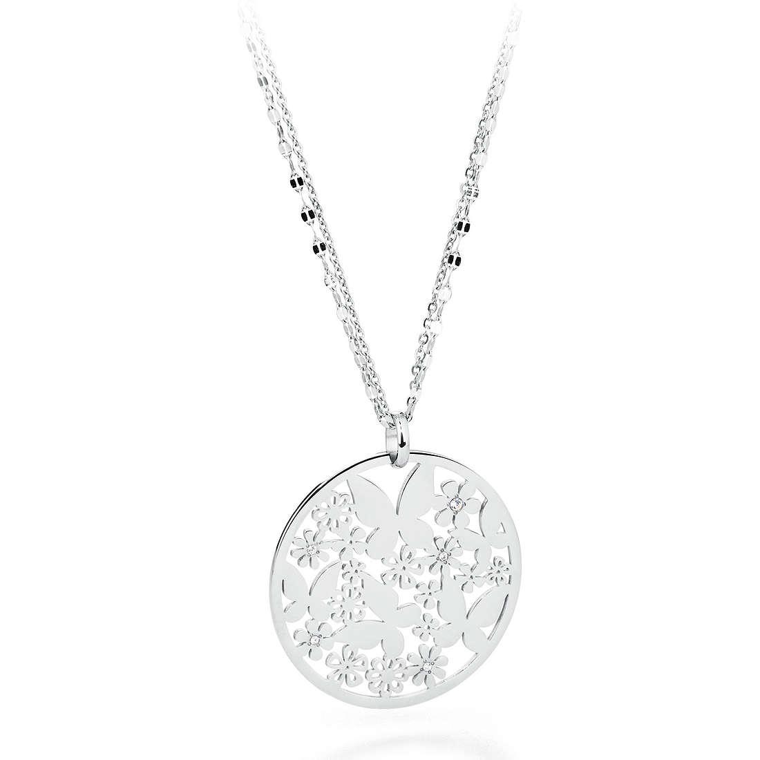 necklace woman jewellery Sagapò FLOWER SFL02