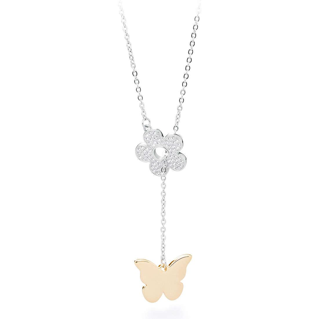 necklace woman jewellery Sagapò FLOWER SLP03
