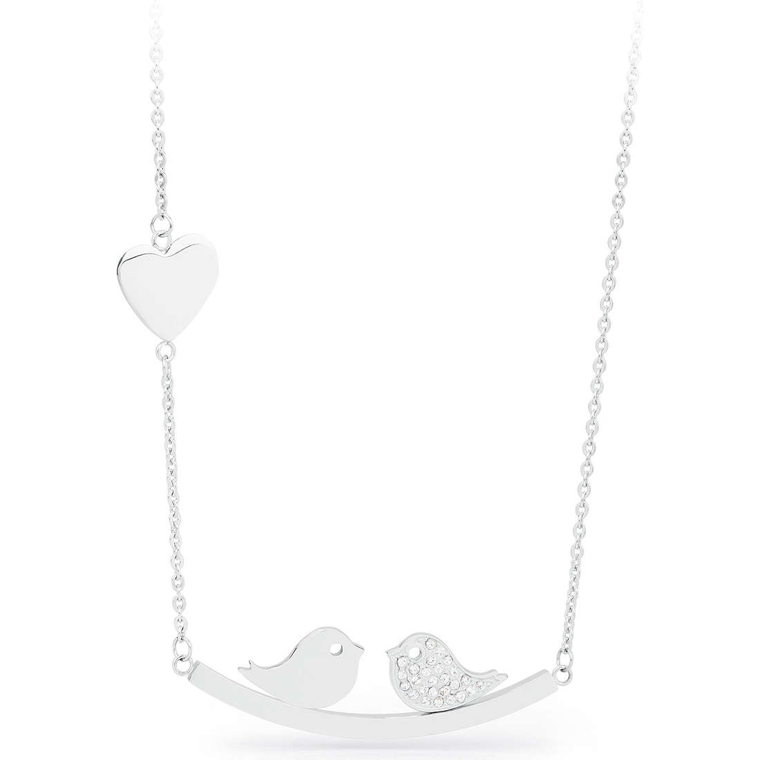 necklace woman jewellery Sagapò KISS SKS01