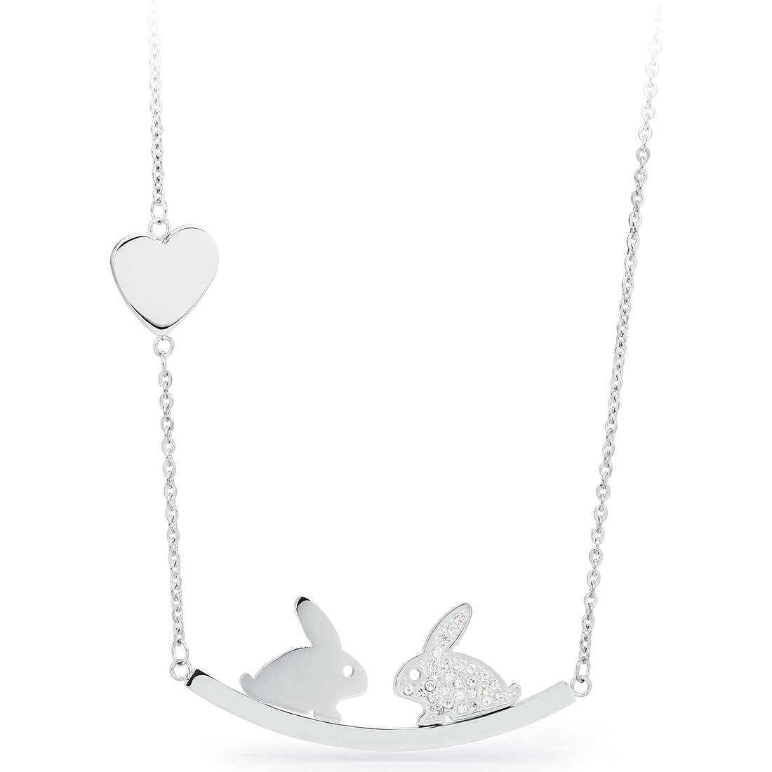 necklace woman jewellery Sagapò KISS SKS03