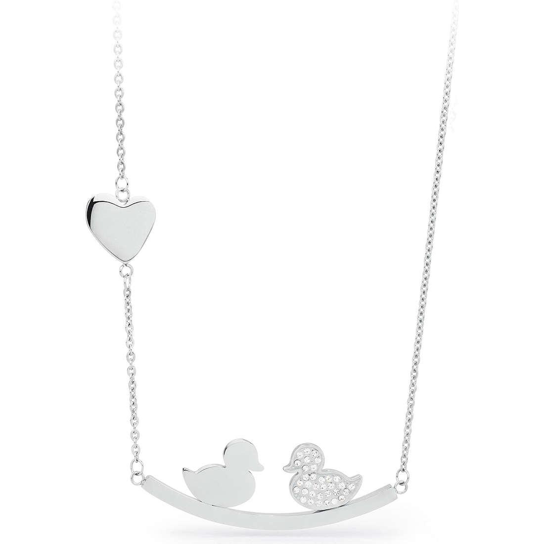 necklace woman jewellery Sagapò KISS SKS05