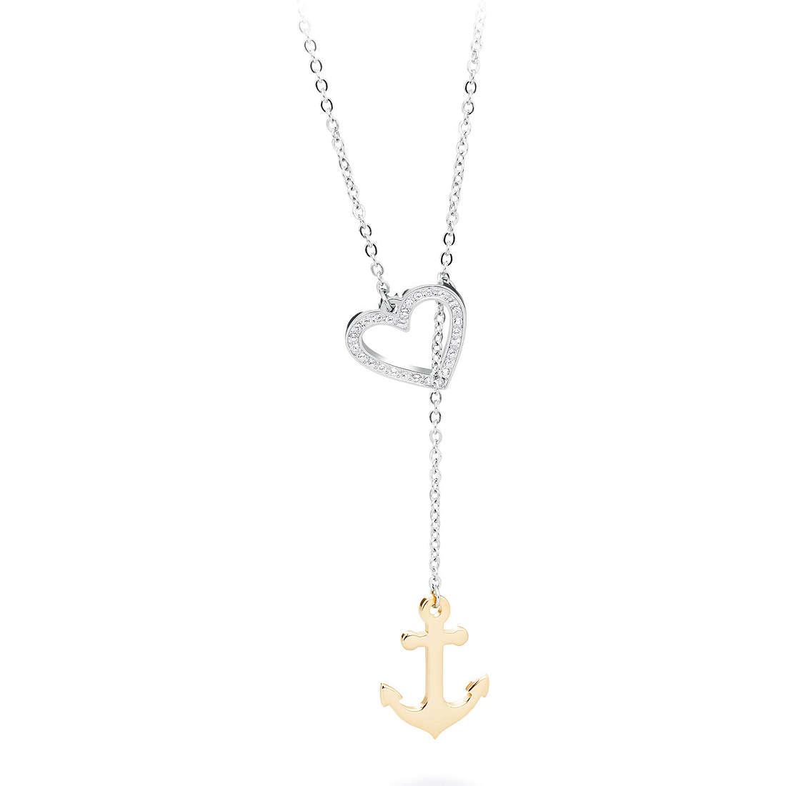 necklace woman jewellery Sagapò LOOP SLP05