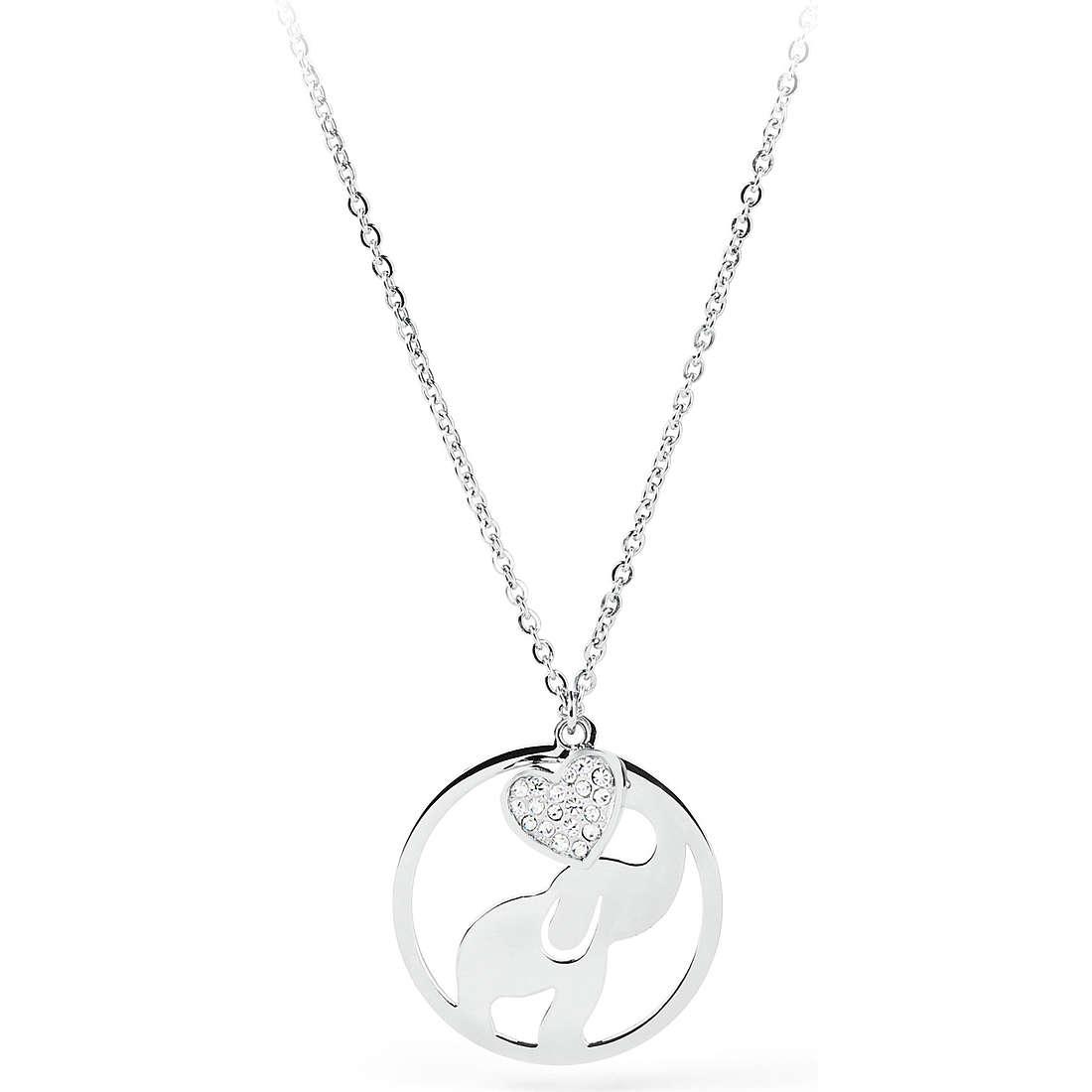 necklace woman jewellery Sagapò Lucky Hoop SLH02