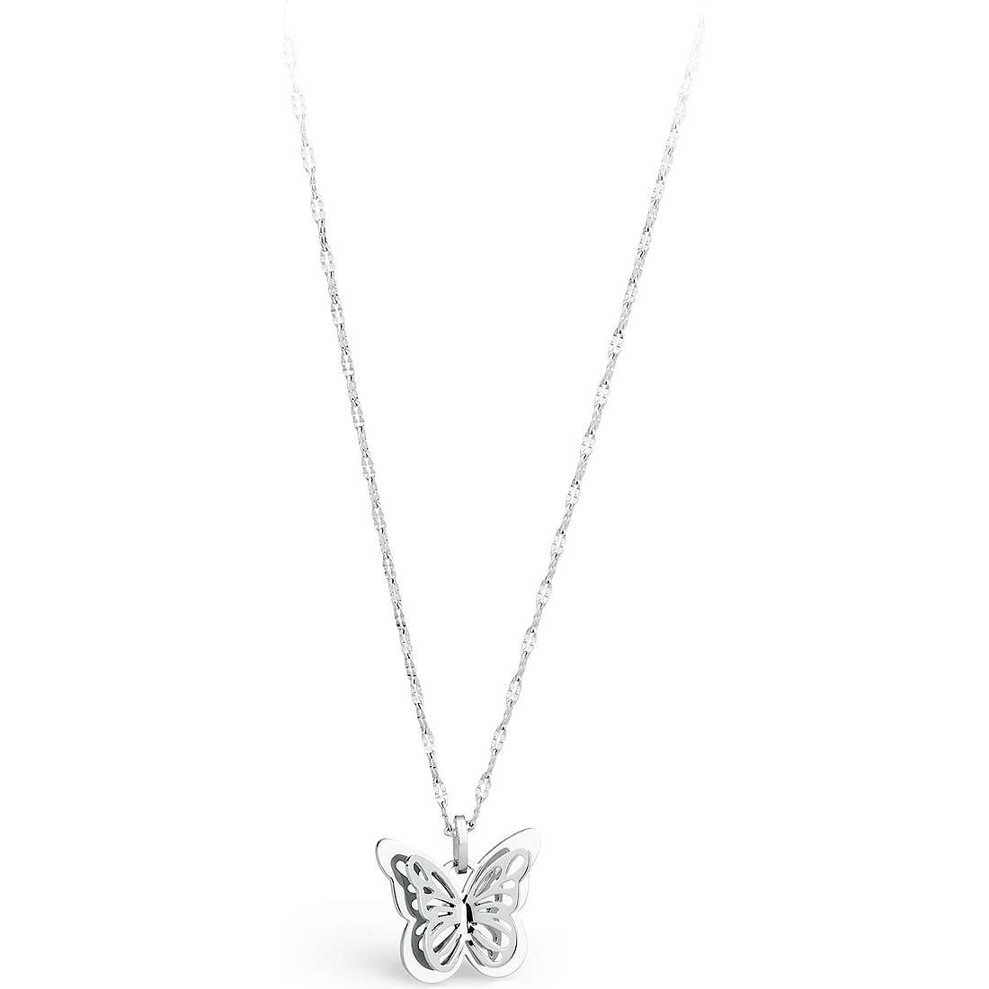 necklace woman jewellery Sagapò Mariposa SMP01