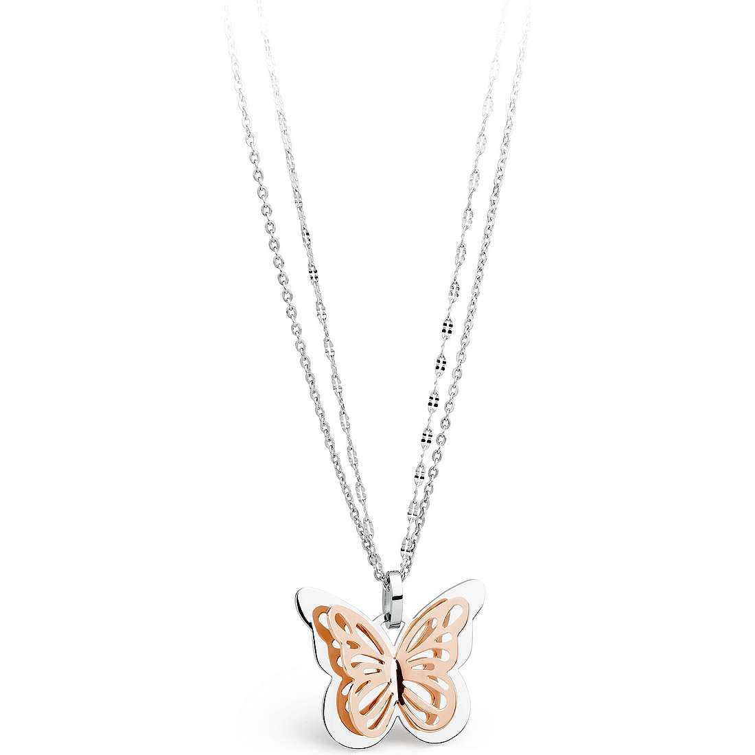 necklace woman jewellery Sagapò Mariposa SMP06