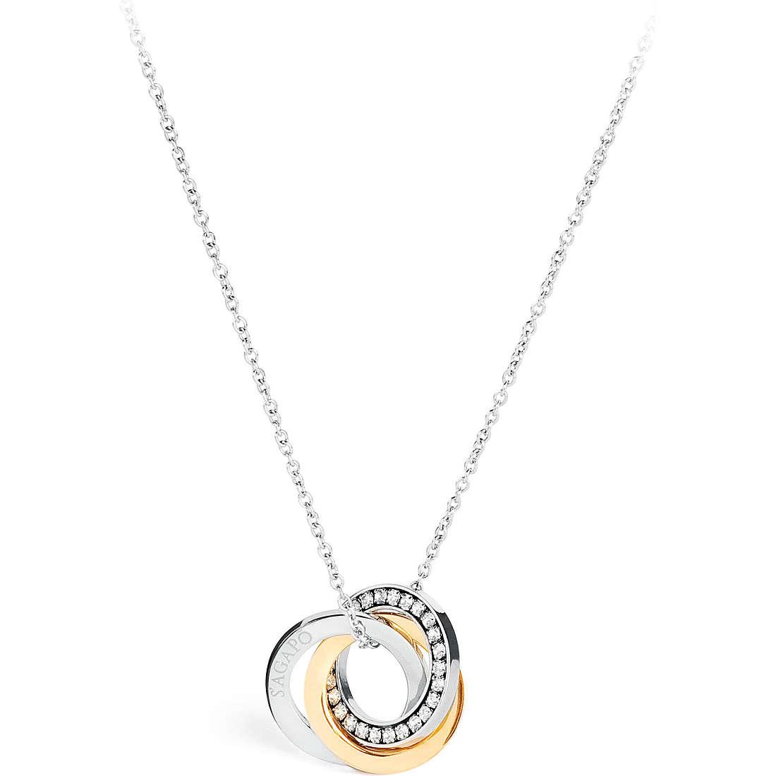 necklace woman jewellery Sagapò Trinidad STR04