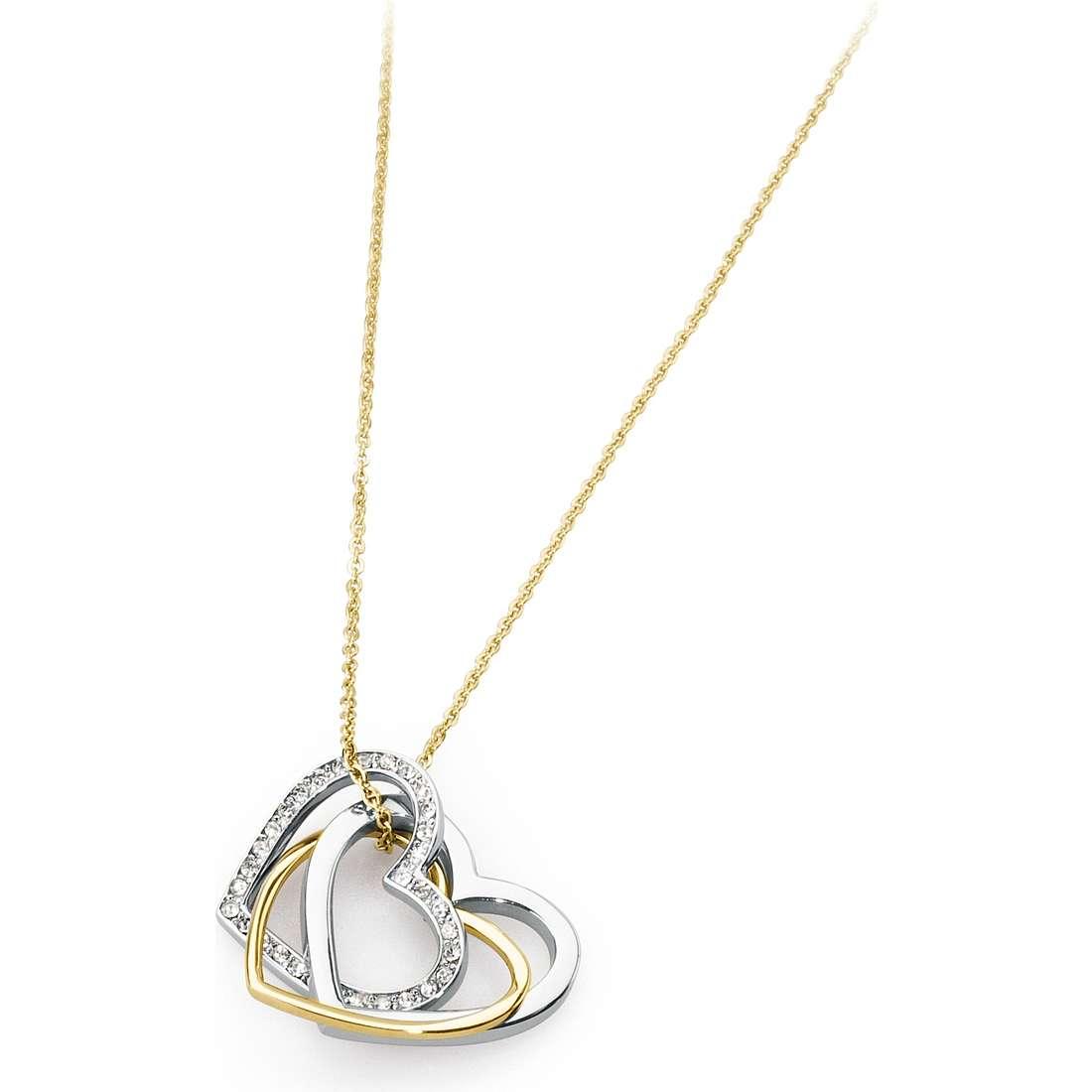 necklace woman jewellery Sagapò Triniheart STH01