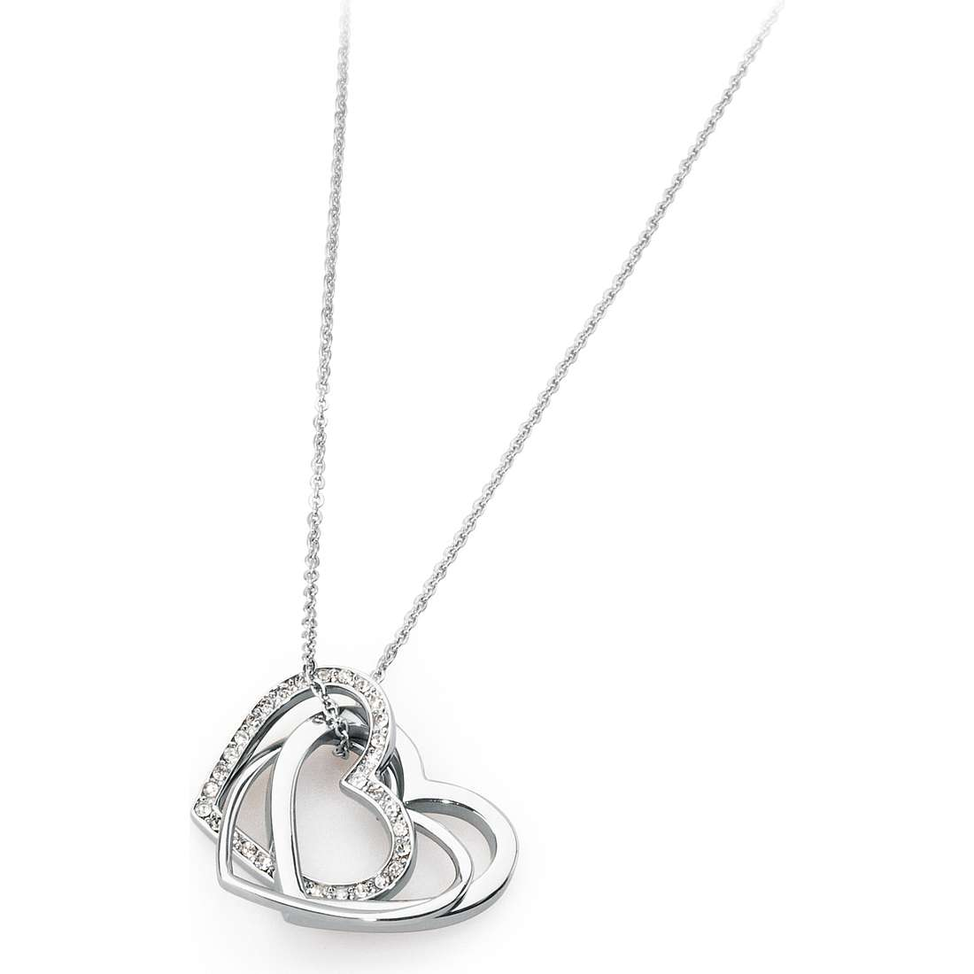 necklace woman jewellery Sagapò Triniheart STH03
