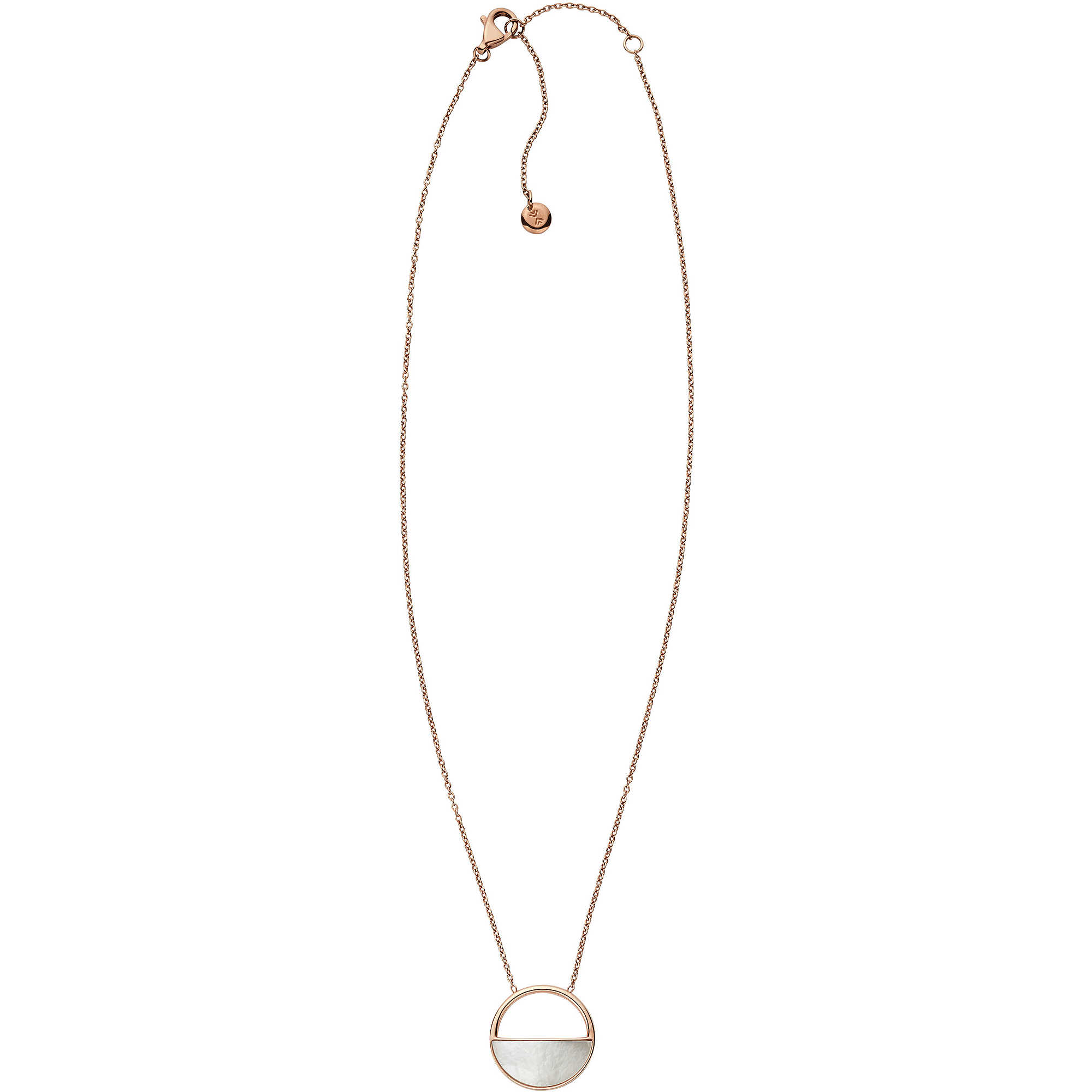 Skagen Women's Rose Gold Necklace SKJ0997791 vYCteSs4