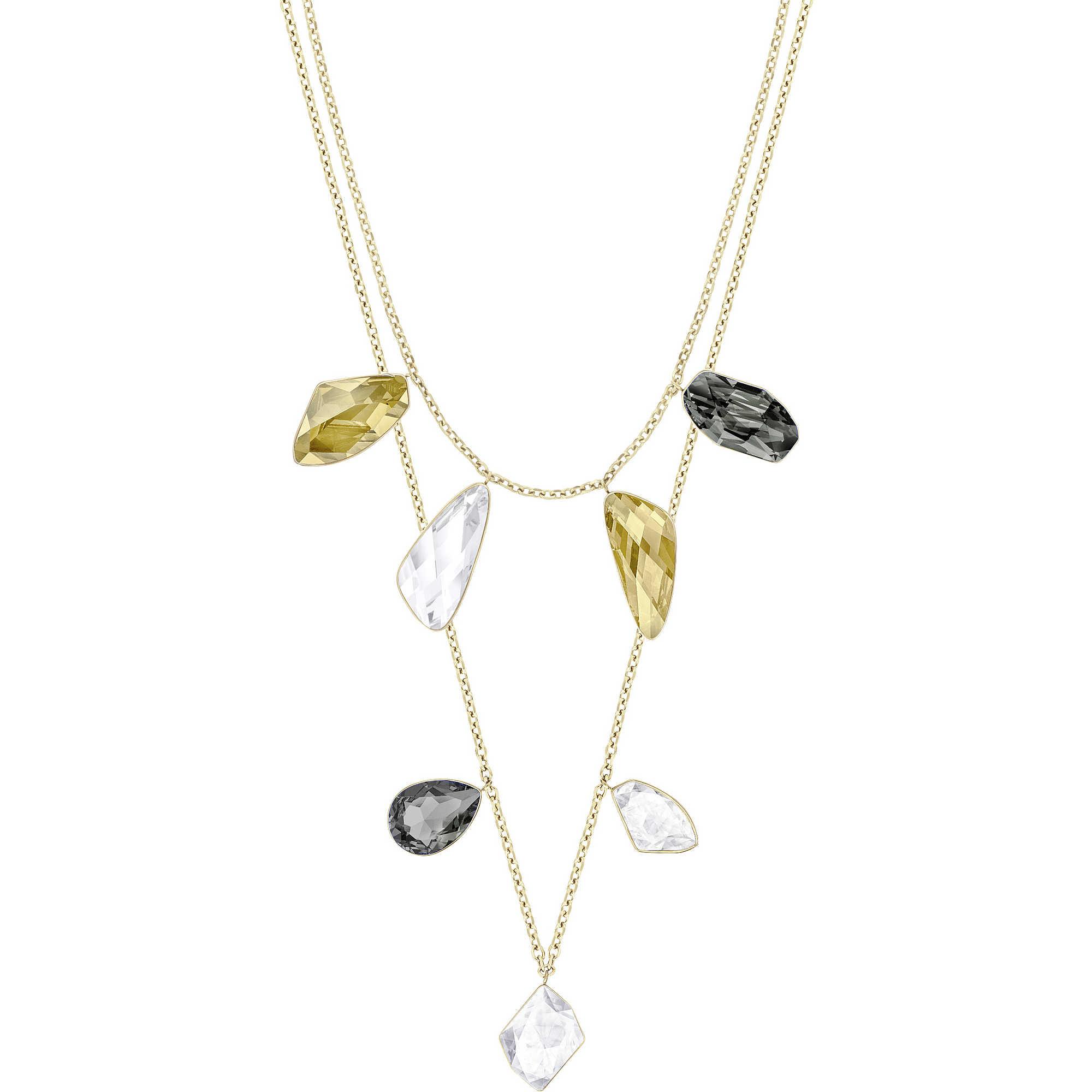 necklace with stones en image plated and pilgrim crystals precious brass ferrari quartz gold