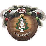 oggettistica Bagutta Natale N 8406-07