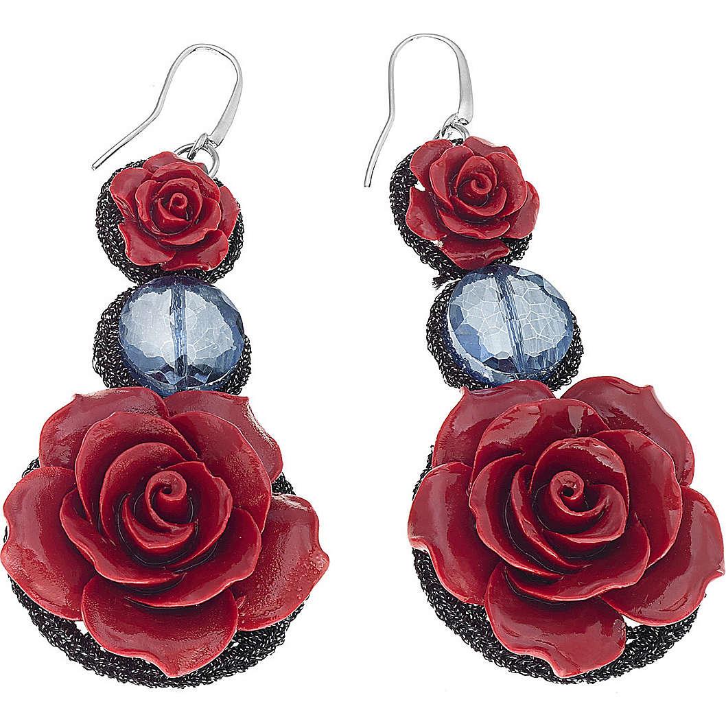 orecchini donna gioielli Ambrosia Rose ABO 036