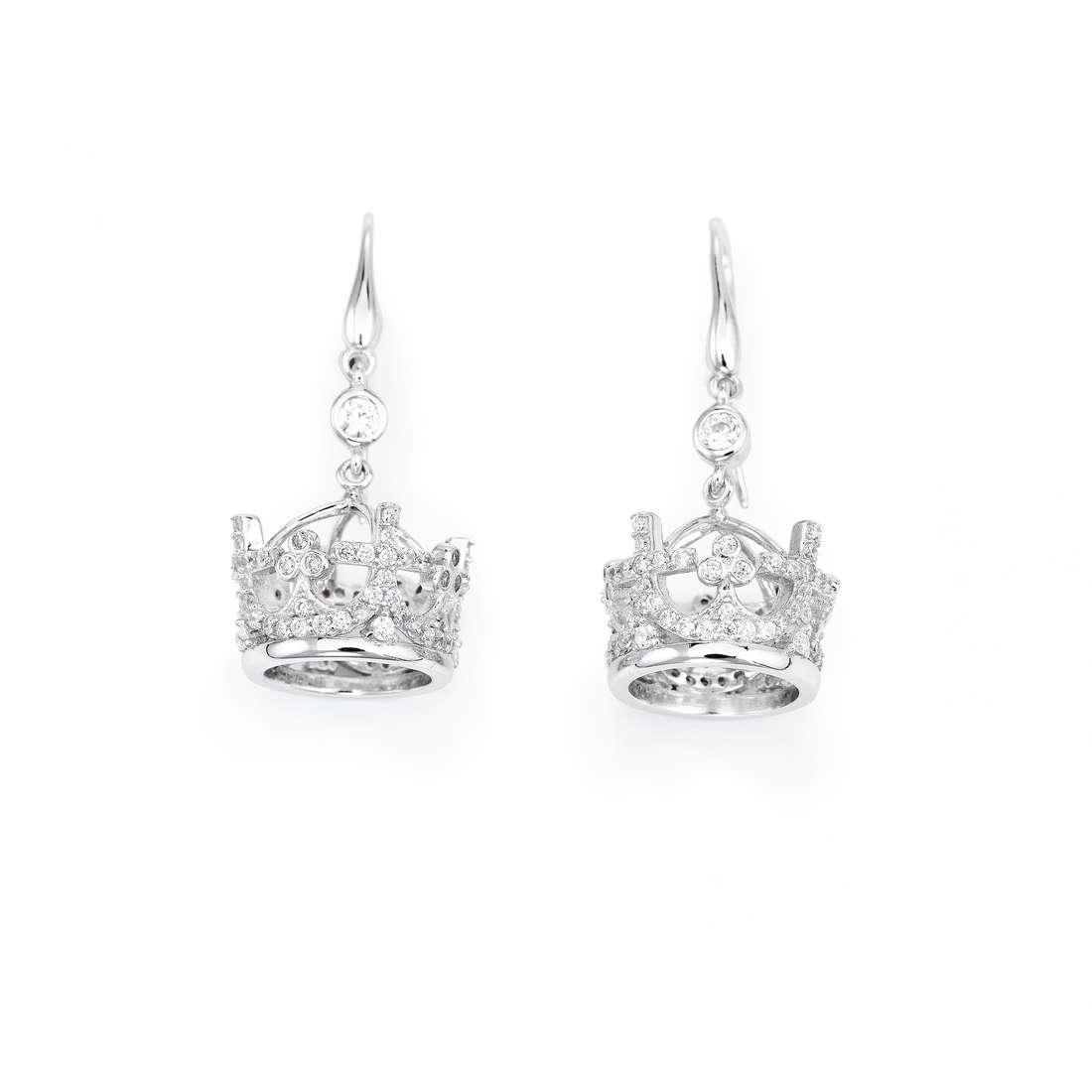 orecchini donna gioielli Amen Corone EC3