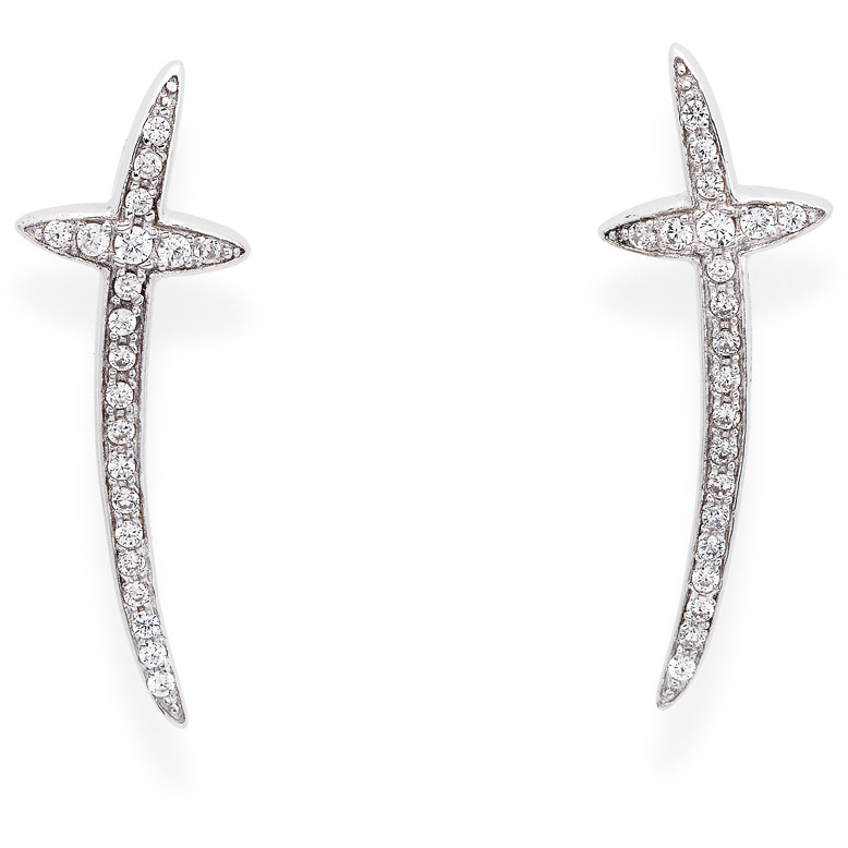 in vendita 60f7c c9e5a orecchini donna gioielli Amen Croce Del Sud ECR