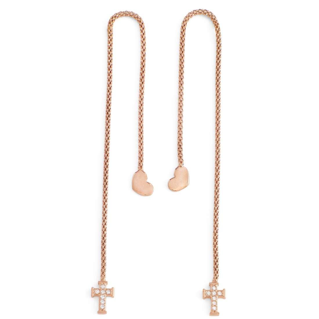 orecchini donna gioielli Amen OABR2