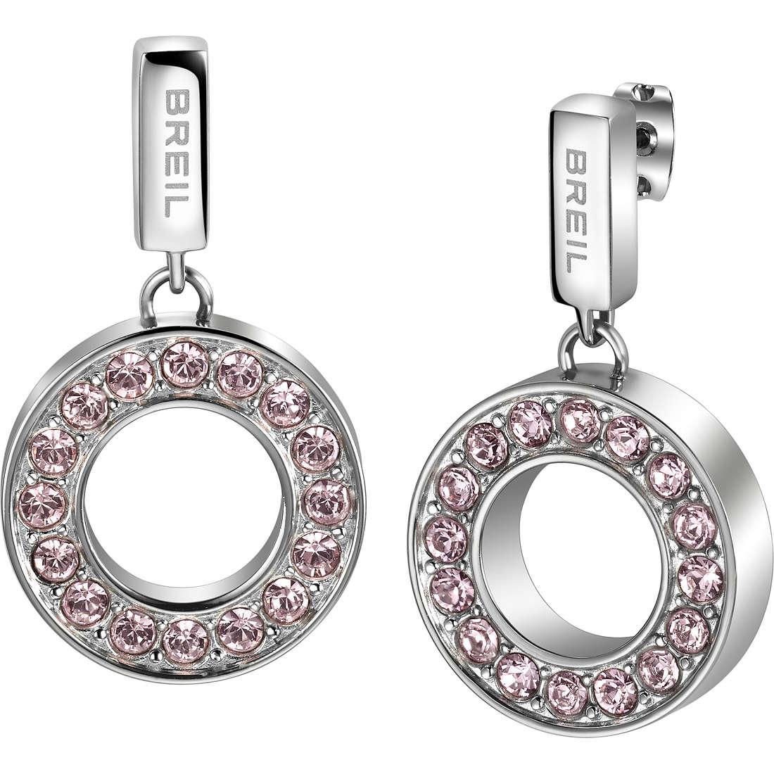 orecchini donna gioielli Breil Breilogy Torsion TJ1735
