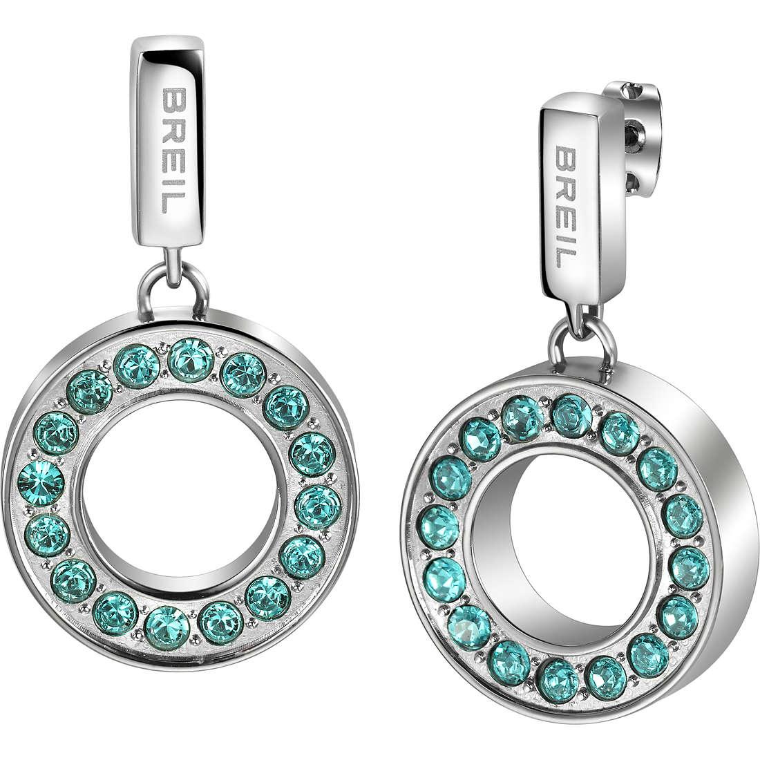 orecchini donna gioielli Breil Breilogy Torsion TJ1736