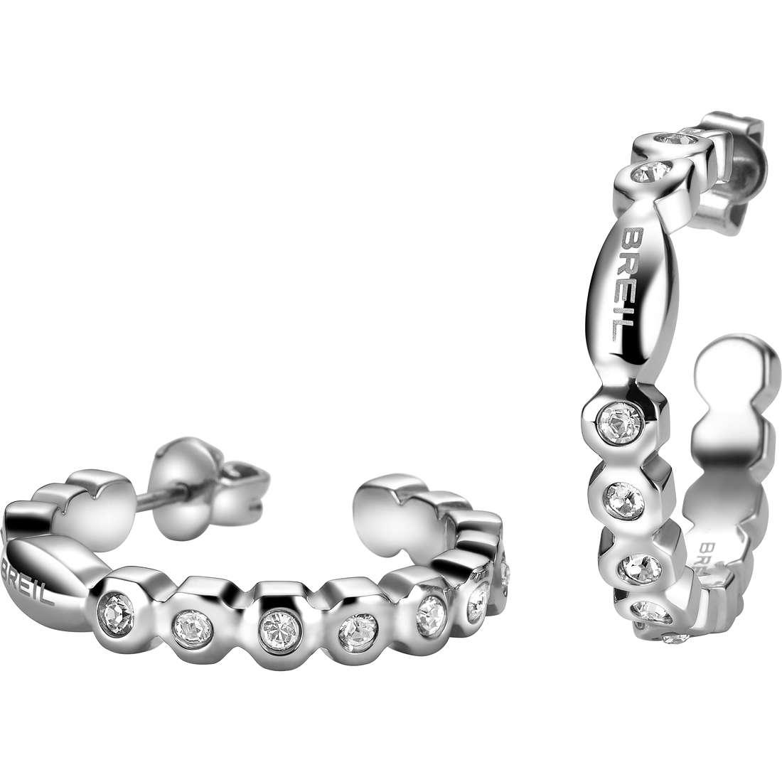 orecchini donna gioielli Breil Rolling Diamonts TJ1568