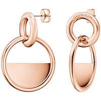 orecchini donna gioielli Calvin Klein Locked KJ8GPE100100