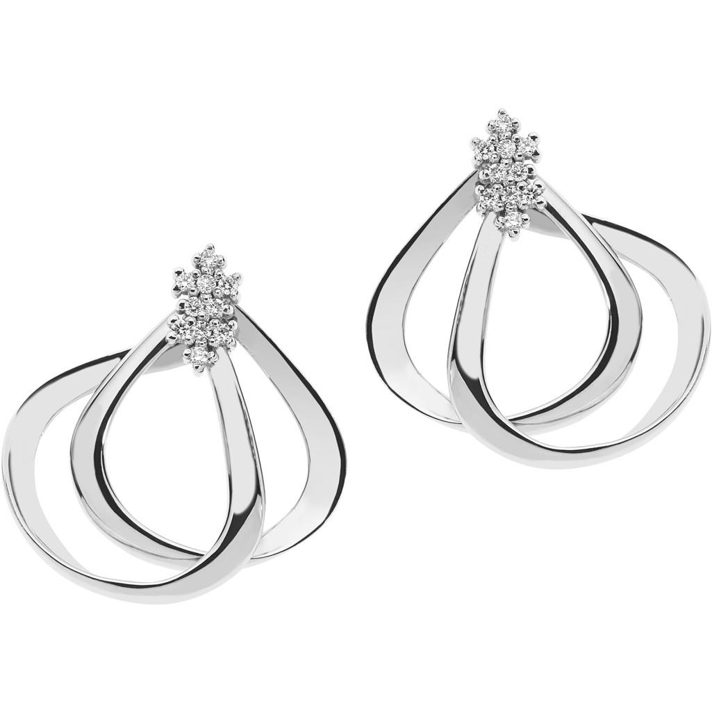 orecchini donna gioielli Comete Diamanti ORB 787