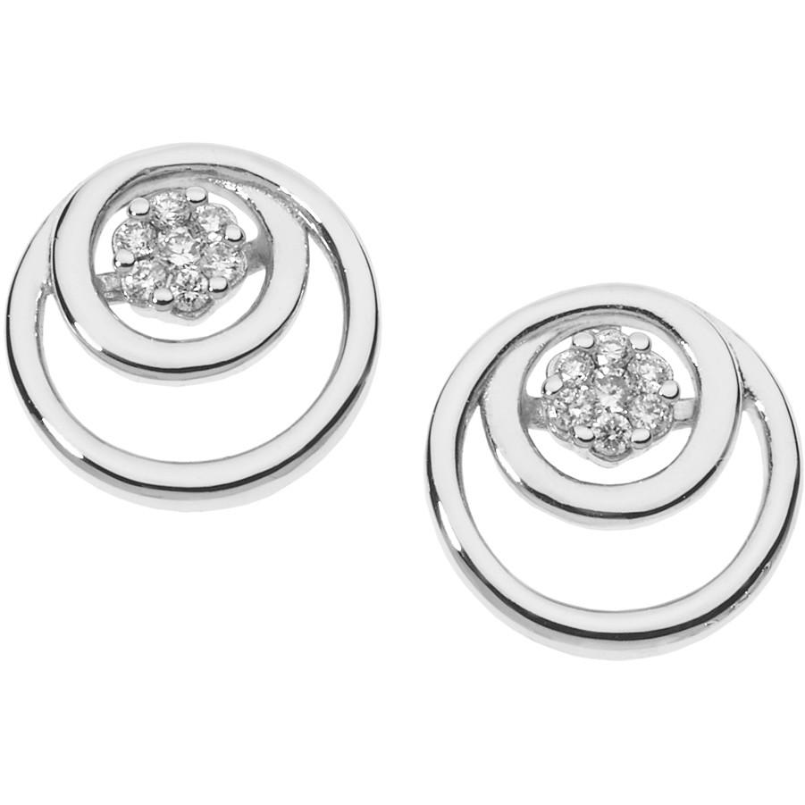 orecchini donna gioielli Comete Fantasie di diamanti ORB 848
