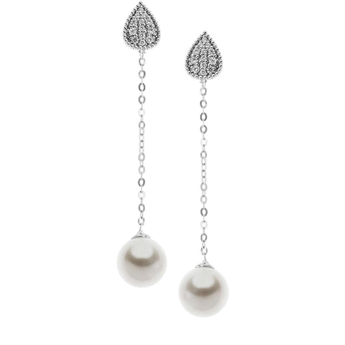 orecchini donna gioielli Comete Fantasie di diamanti ORP 579