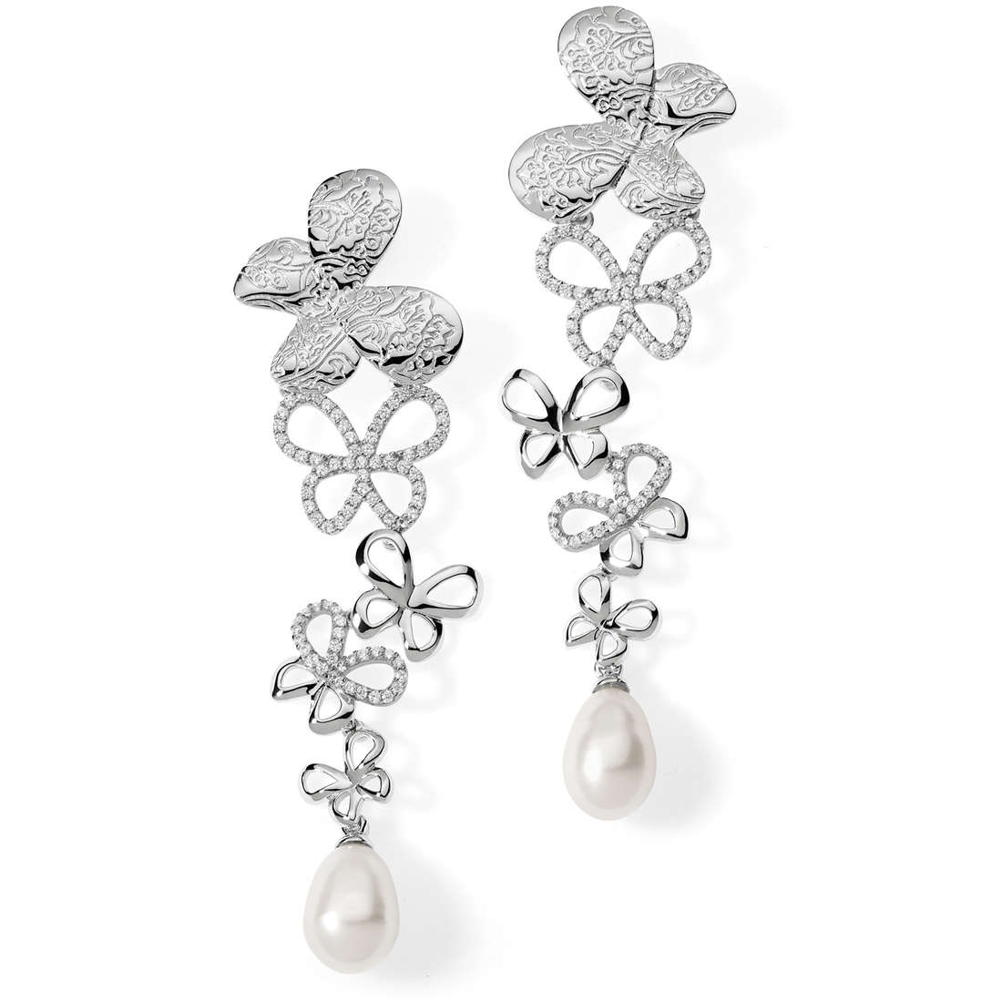 orecchini donna gioielli Comete Farfalle ORA 108