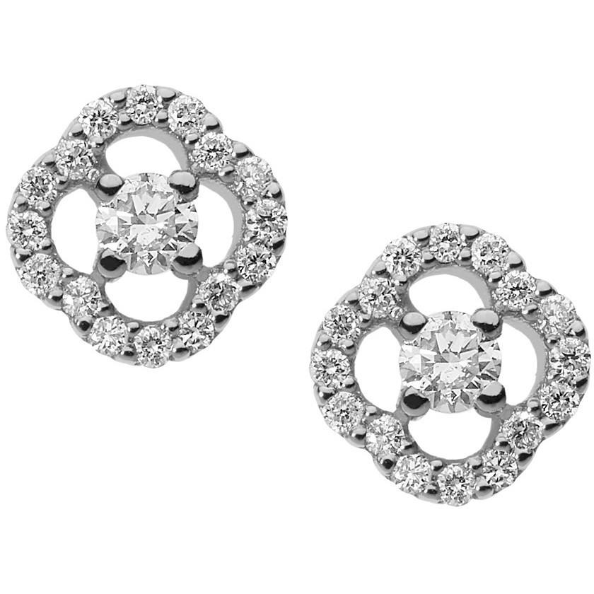 orecchini donna gioielli Comete Flora ORB 779