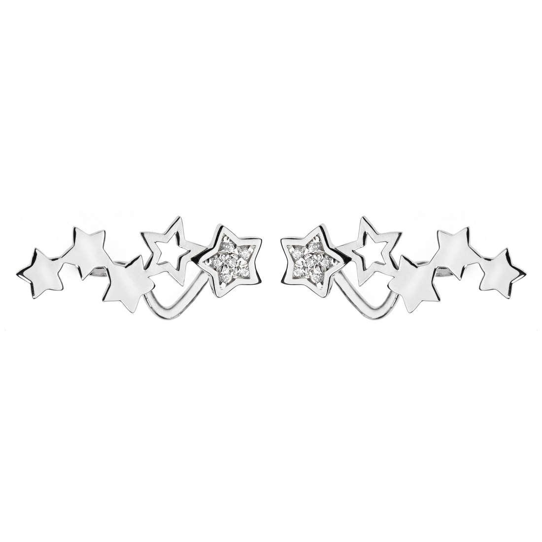 orecchini donna gioielli Comete Happy ORB 730