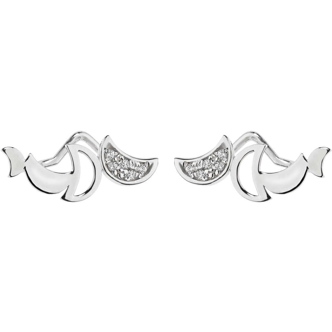 orecchini donna gioielli Comete Happy ORB 732